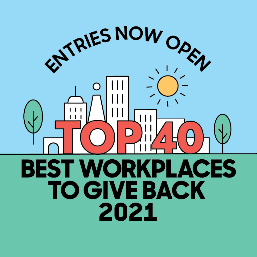 Good news is on its way Enter Australia's Best Workplaces to Give Back